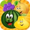 蘋果 連接 碰碰 汁 : 切水果 滑动 嬰兒遊戲