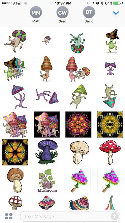 Shroom Stickers