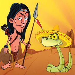 Snake Attack! Native American Hunter