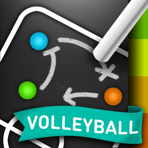 CoachNote Volleyball & Beach Volleyball : Sports Coach's Interactive Whiteboard