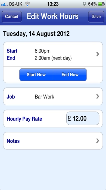 Easy Pay Diary screenshot-1