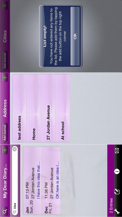 My Dear Diary with GPS screenshot-4