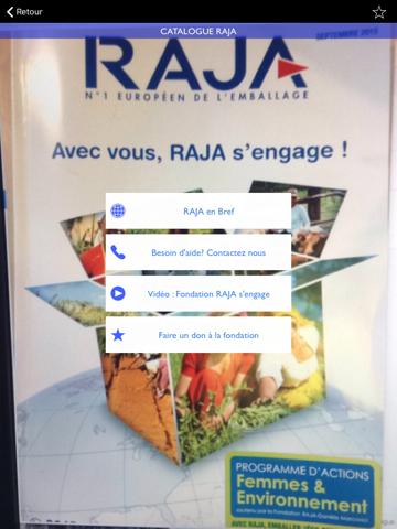 Screenshot of Raja
