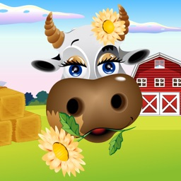 Farm Animals Color & Scratch Game for Kids and Toddlers