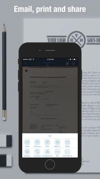 Scan Master - PDF Scanner to Scan Receipts & Cards screenshot-3
