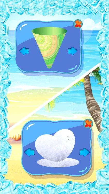 Rainbow Snow Cone Maker - Summer Frozen Food Stand