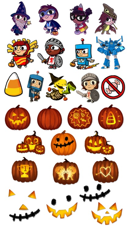 Costume Quest Stickers screenshot-4