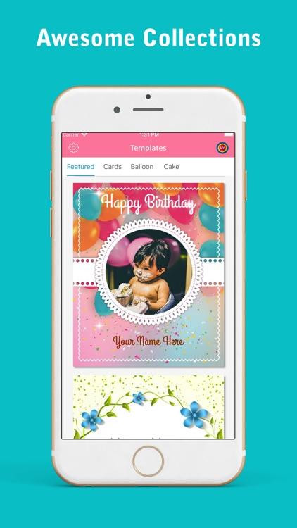 Happy Birthday Greetings Card screenshot-4