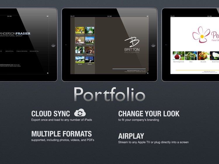 Portfolio for iPad screenshot-0