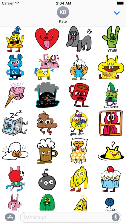 Burgerworld stickers screenshot-0