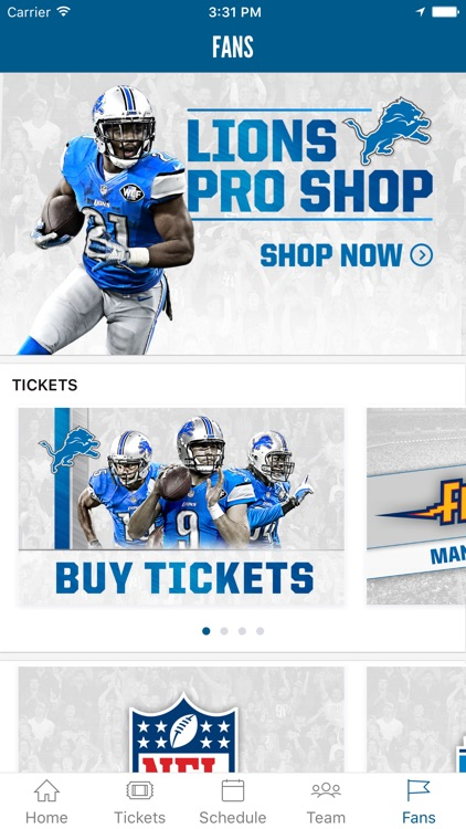 Detroit Lions Mobile screenshot-4