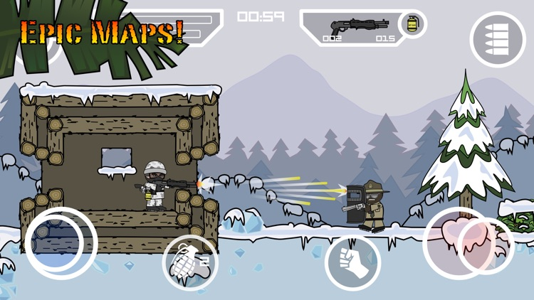 Doodle Army 2 : Mini Militia screenshot-4