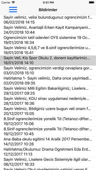 Okul Yönetim Sistemi screenshot two