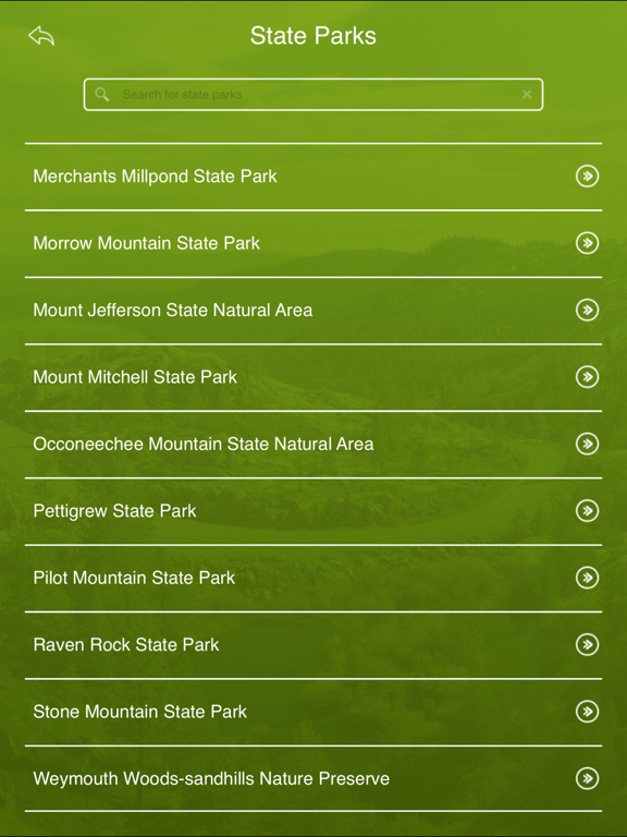 Screenshot #6 pour North Carolina State Parks