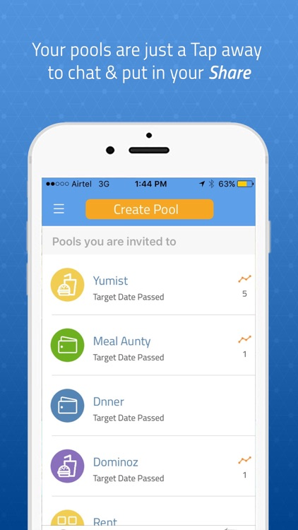 MyPoolin: Plan and Pay with Friends screenshot-3