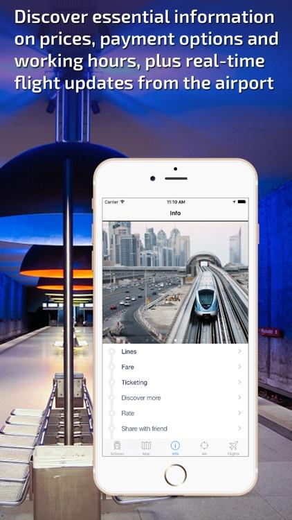 Dubai Metro Guide and route planner screenshot-4