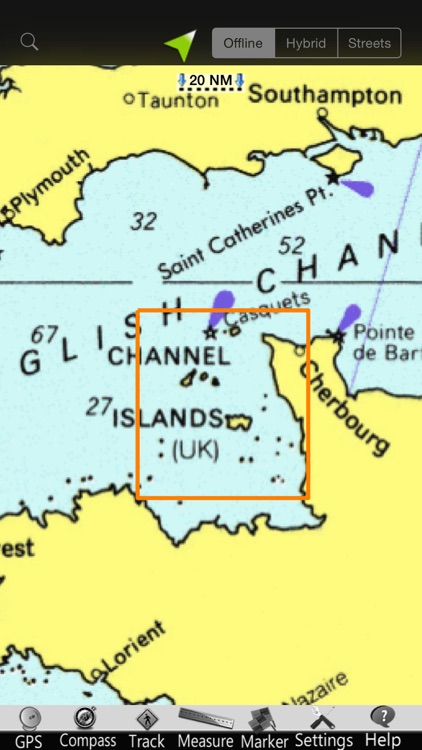 Channel Is. GPS Nautical Chart screenshot-4