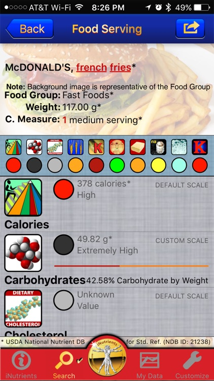 iNutrients - 10 Nutrients Incl. Carbs & Vitamin K screenshot-4