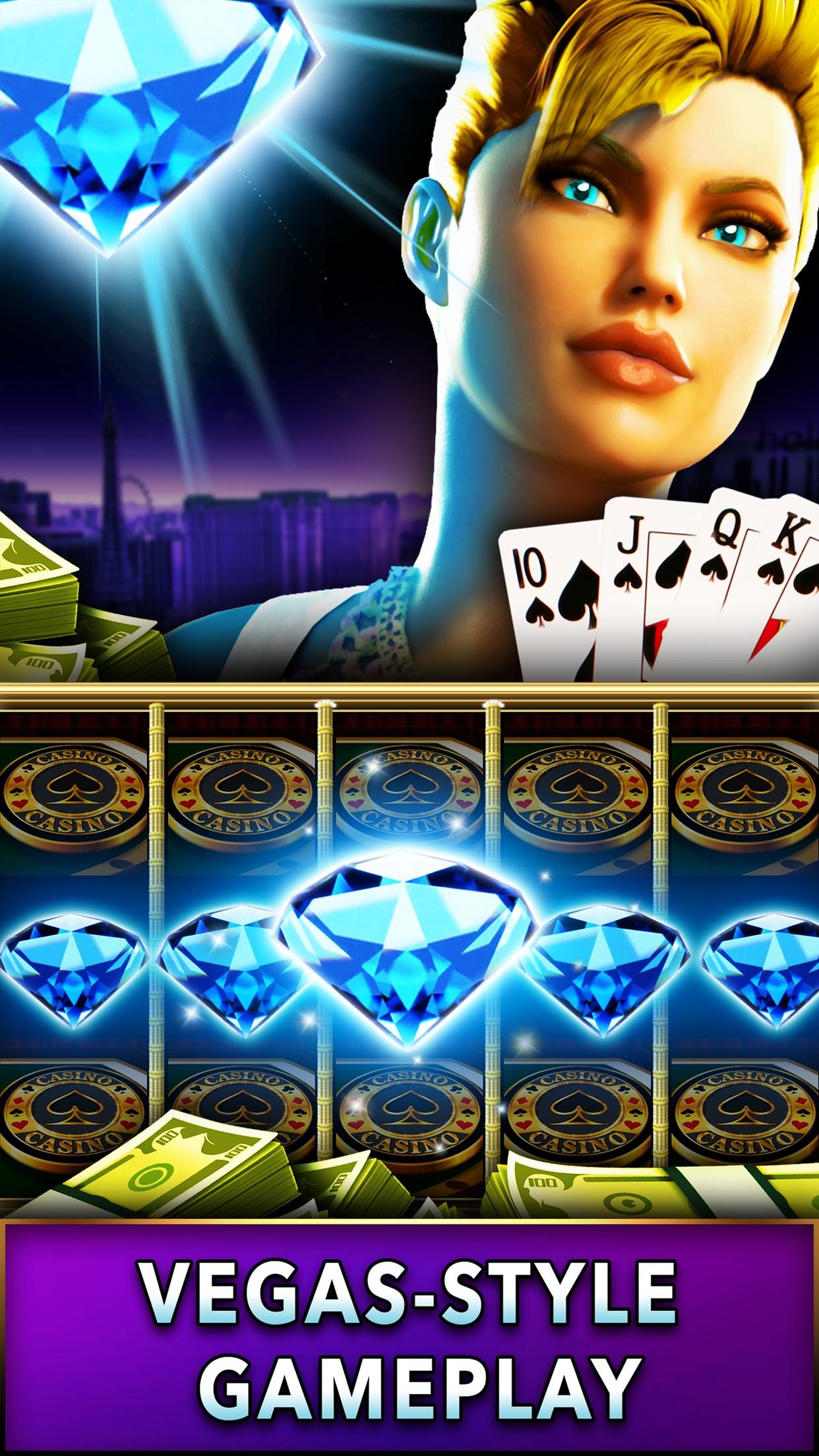 Mega Millions Casino - Real Vegas Slots - Play Royal Slot Machine Games in the Red Rock Valley! Screenshot