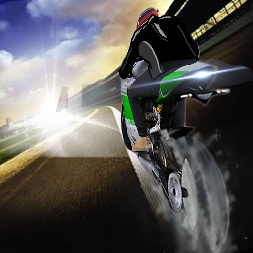 A Speedway Fast Motorcycle - Game Speed