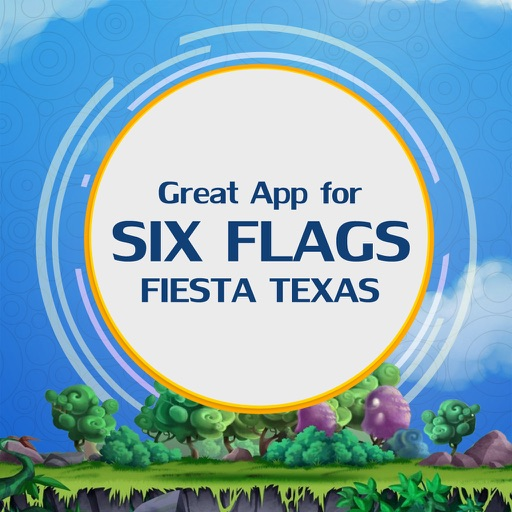 Great App for Six Flags Fiesta Texas