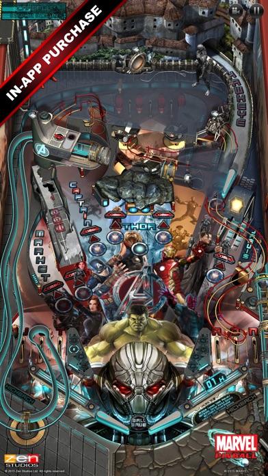 Screenshot #7 for Marvel Pinball