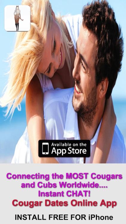 real cougar dating app