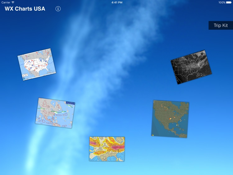 WX Charts USA - Aviation Weather Charts For USA screenshot-1