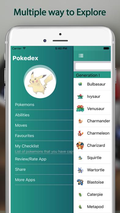Dex for Pokedex - Dexter of Pokédex for Pokémonのおすすめ画像3
