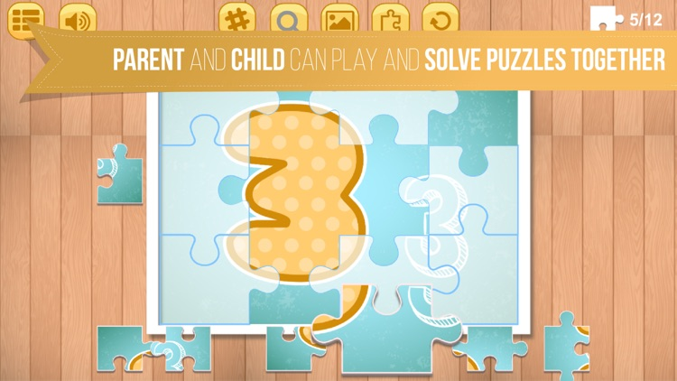 Kids Jigsaw Puzzle World : ABC - Game for Kids for learning screenshot-4