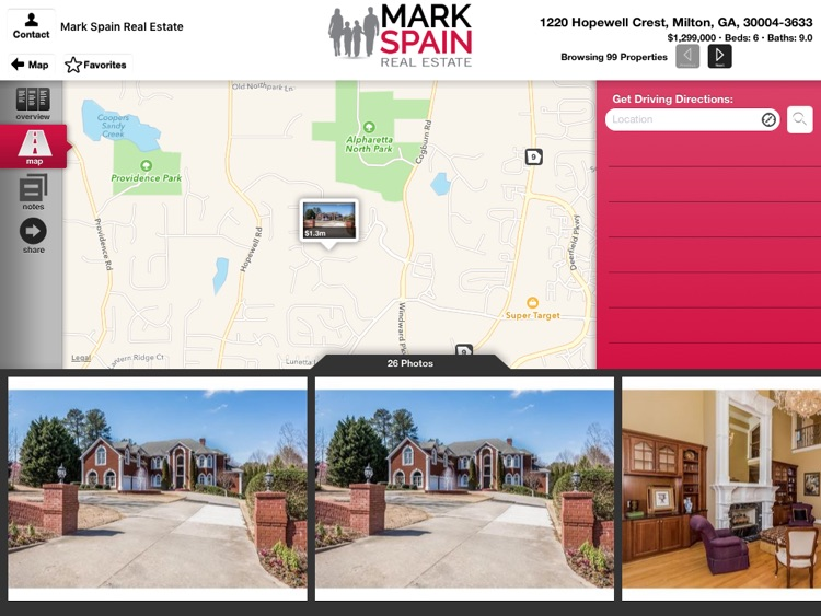 Mark Spain Real Estate for iPad