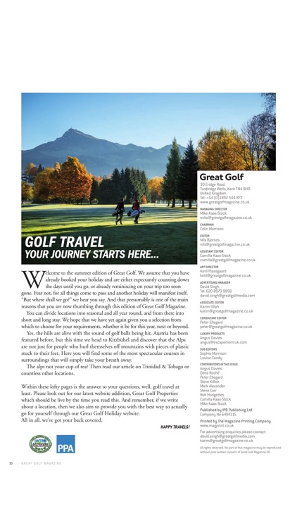 Great Golf Magazine - The Luxury Travel and Lifestyle Magazine screenshot-4