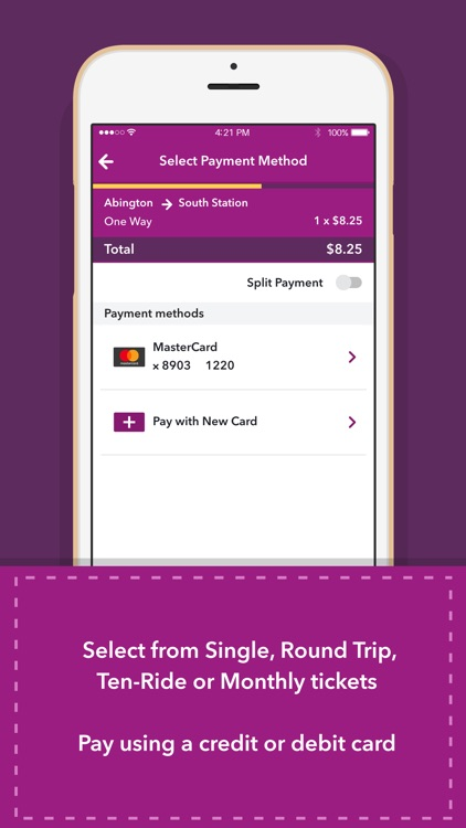 MBTA mTicket screenshot-2