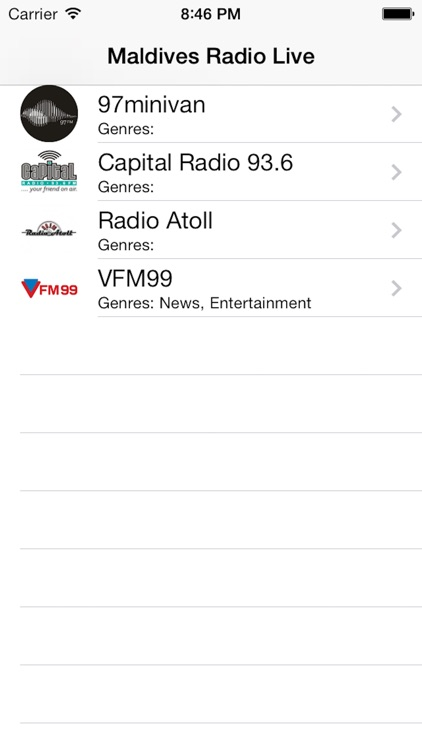 Maldives Radio Live Player (Malé/Maldivian/Dhivehi screenshot-3