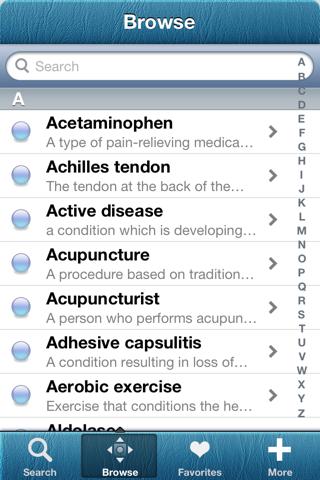 1000 Arthritis Dictionary - náhled