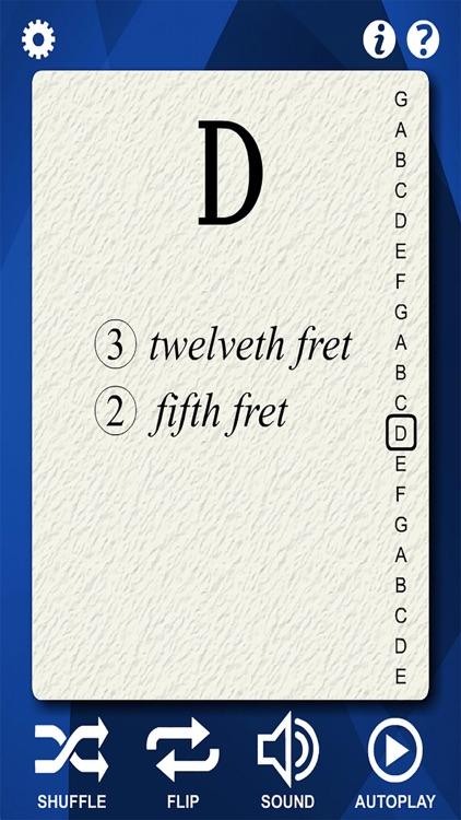 Mandolin Notes Flash Cards screenshot-3