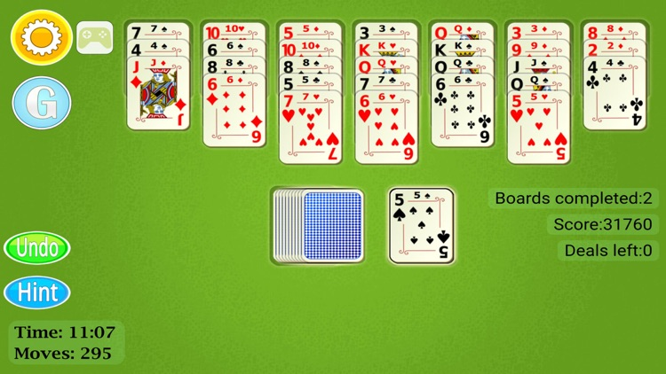 Golf Solitaire Mobile screenshot-4