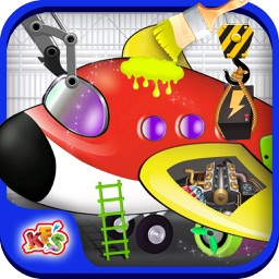 Airplane Factory – Build & design aircraft in this mechanic game for kids