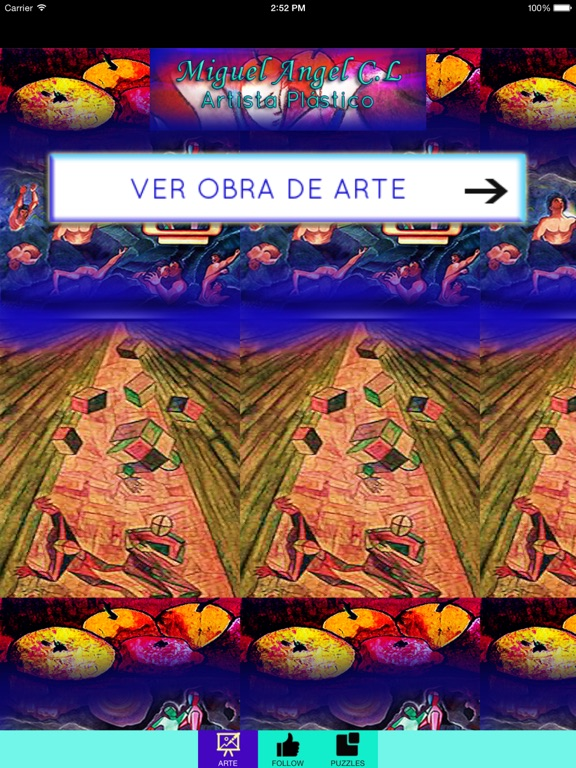 ARTISTA & OBRA :  Miguel Angel Castillo Lara-ipad-2