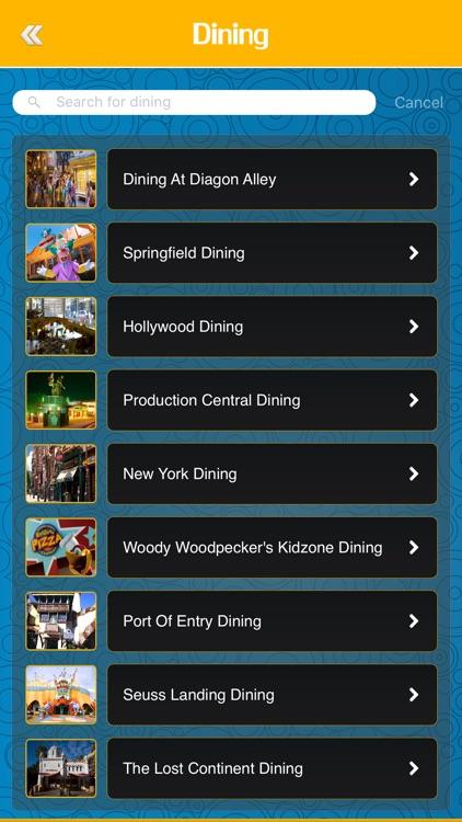 Great App for Universal Orlando Resort screenshot-3