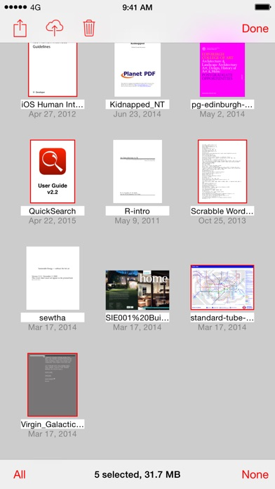 Quicksearch Pdf Reader review screenshots
