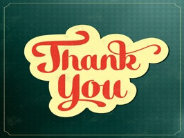Thank You Photo - Fc Sticker