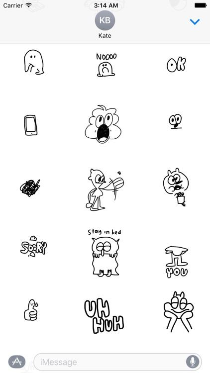Doodles by Jon Burgerman