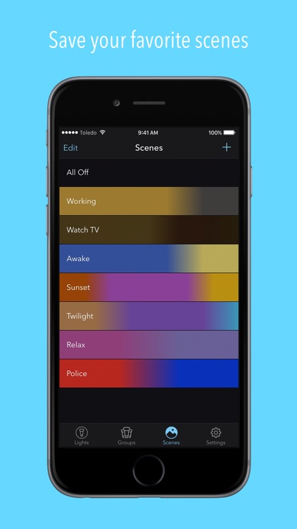 Huemote – A Fast Remote for Your Philips Hue Lights screenshot-3