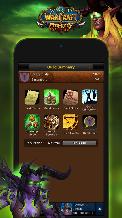 WoW Mobile Armory screenshot-3