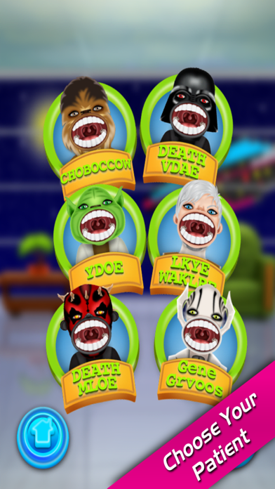 Star Fight Dentist in Little Crazy Doctor Mania Office screenshot two