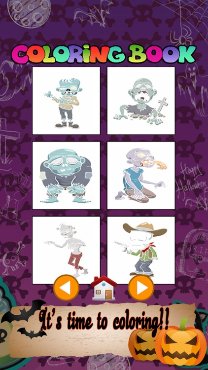 Halloween Coloring Book Best Pencils Coloring Page