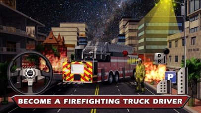 Fire Truck Parking & Driving Test in New York City 2016