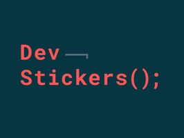 DevStickers() is a tongue-in-cheek iMessage stickers pack for developers – it's probably the only app on the Apple App Store featuring a blue screen of death