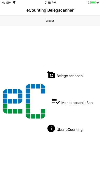 eCounting-BelegscannerScreenshot von 2